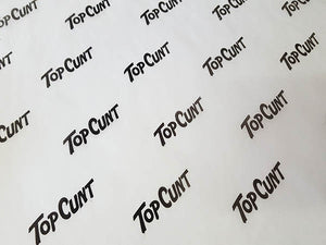 Top Cunt Wrapping Paper (5-pack)