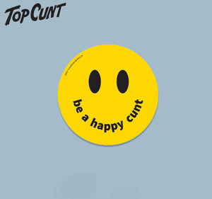 Happy Cunt Sticker