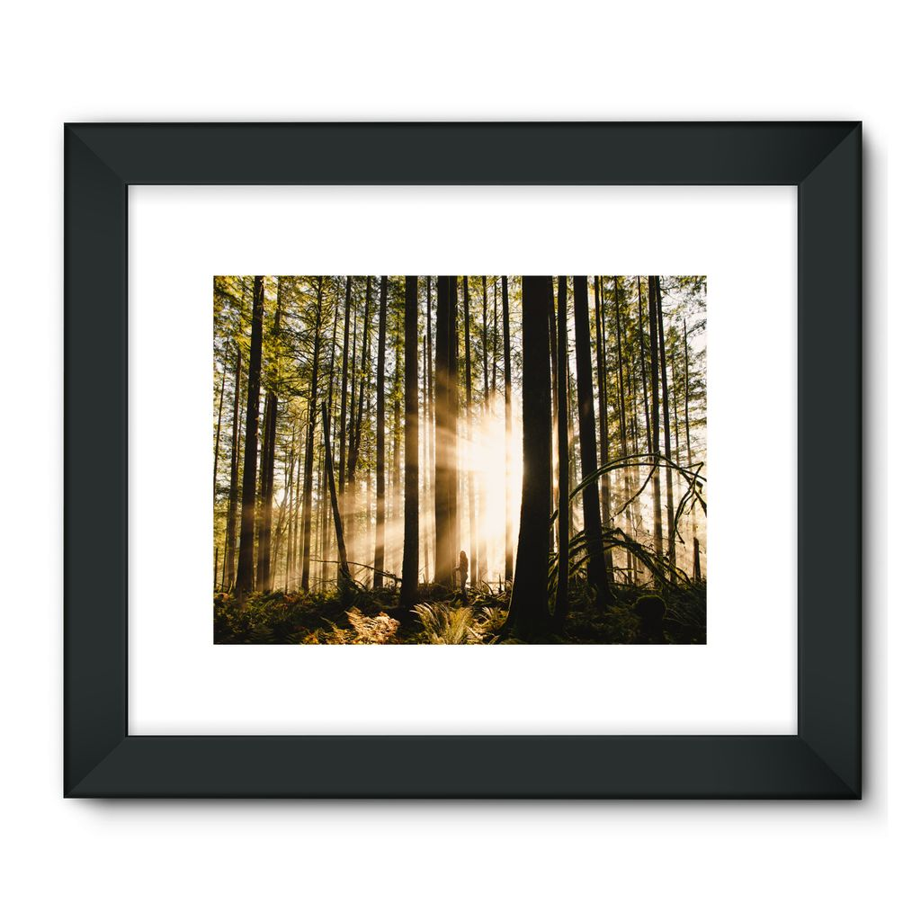 Golden Ears Sunrise, Canada Framed Fine Art Print