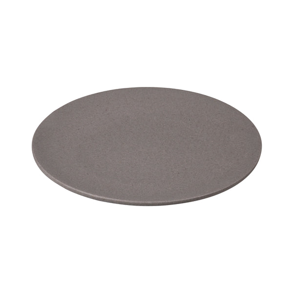 Grey Bamboo Dinner Plate