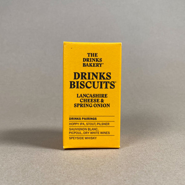 Drinks Biscuits. Lancashire Cheese & Spring Onion