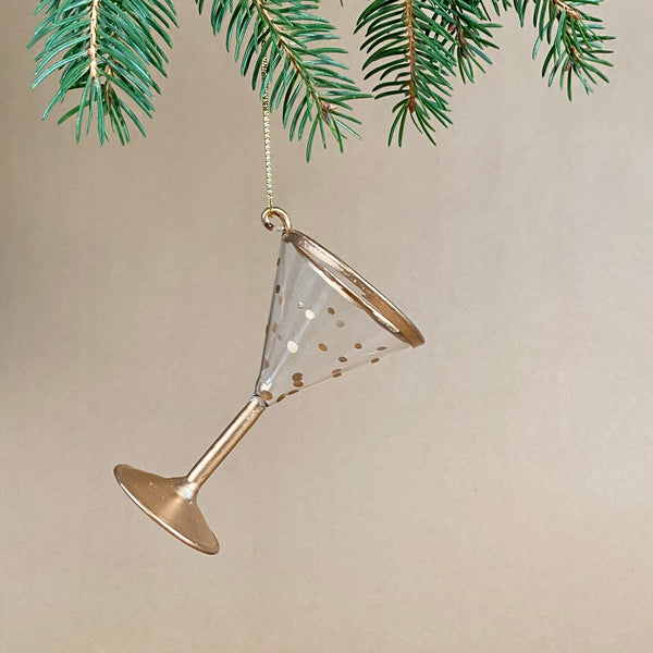 Martini Glass Bauble