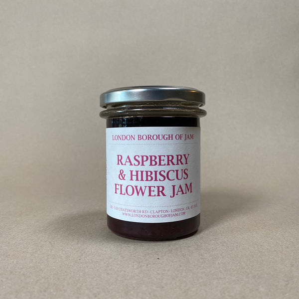 LBJ Raspberry and Hibiscus Jam