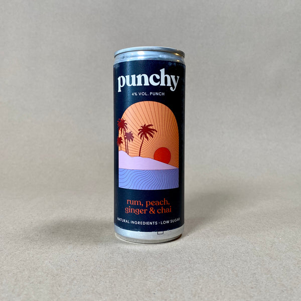 Punchy - Rum, Peach, Ginger and Chai
