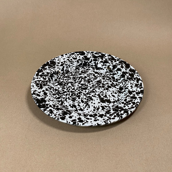 Splatterware Enamel Dinner Plate