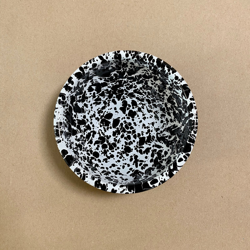 Splatterware Enamel Cereal Bowl