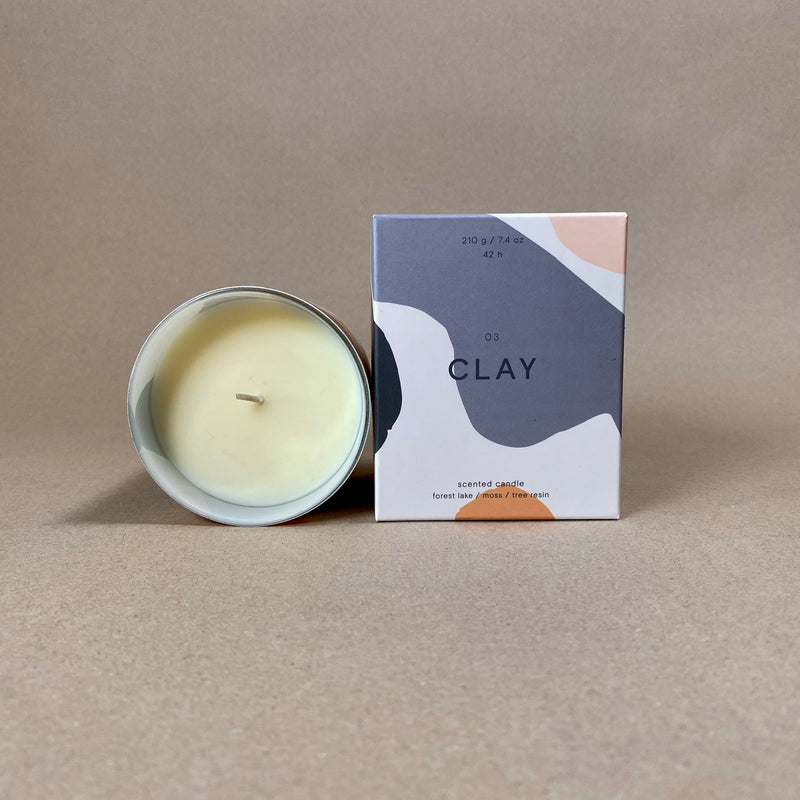Wrap Candle - Clay