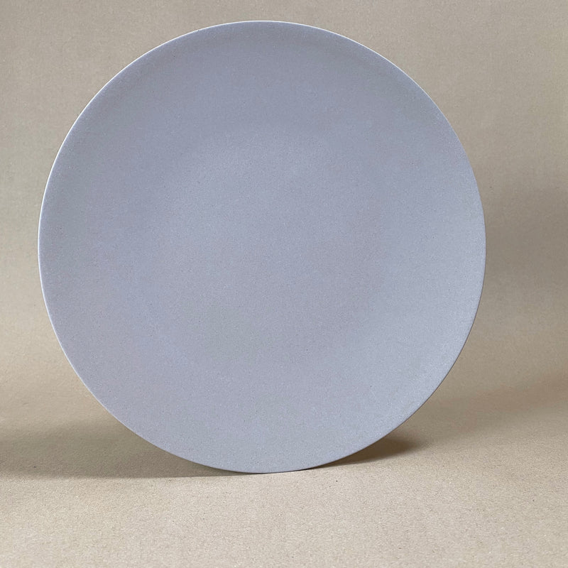 Large Grey Bamboo Plate