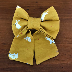 Bowties 4 Olivia - Pet Bowties - Mustard Love