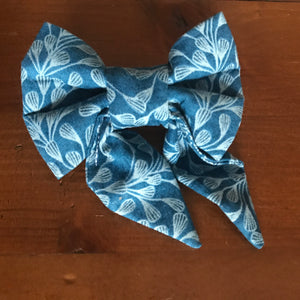 "Bowties 4 Olivia - ""Shaanti "" Collection 2019 - Ocean Blue"