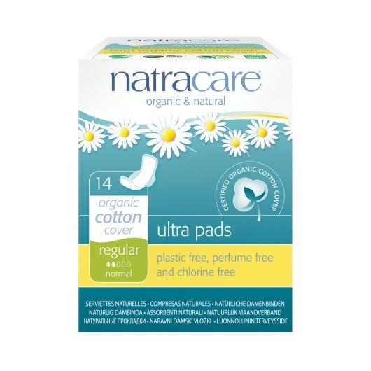 Compresa Regular Con Alas Natracare