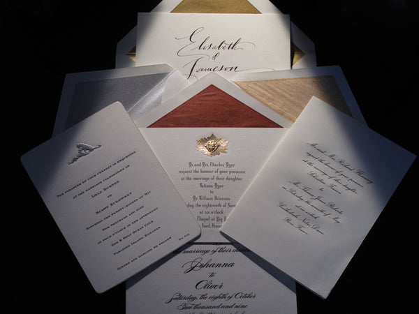 Connor Bespoke Wedding Invitations