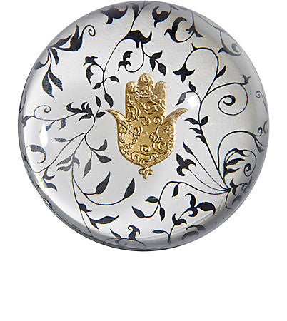 Hand of Fatima Paperweight - Madeline Weinrib Limited Edition Collaboration