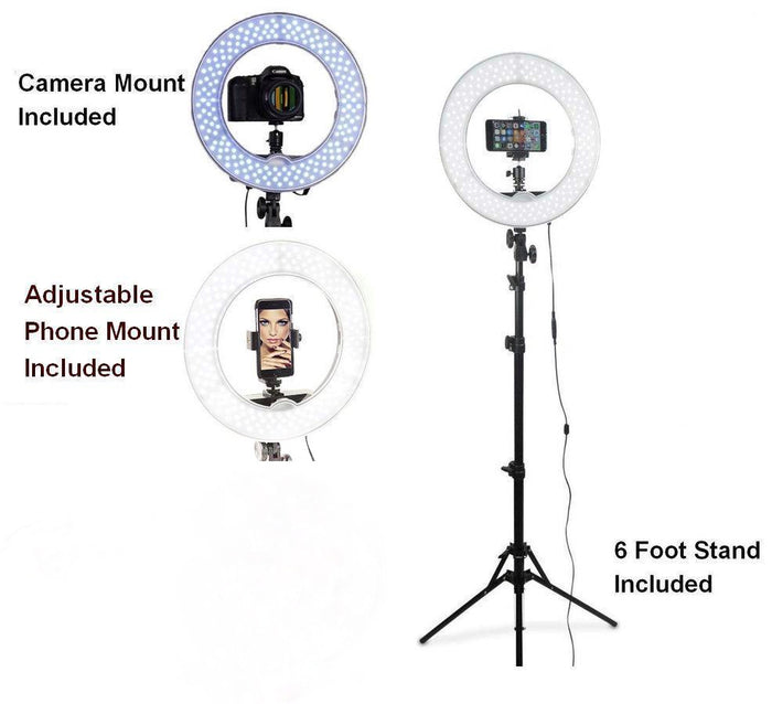 cosmetic photoshoot ring light tripod for high definition photography