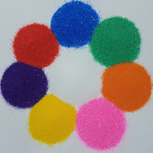 Bright Coloured Craft Sand Shakers (Pack of 8)