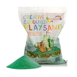 Green Halloween Play Sand - 5kg or 15kg Bag