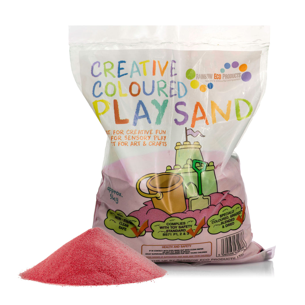 Red Halloween Play Sand - 5kg or 15kg Bag