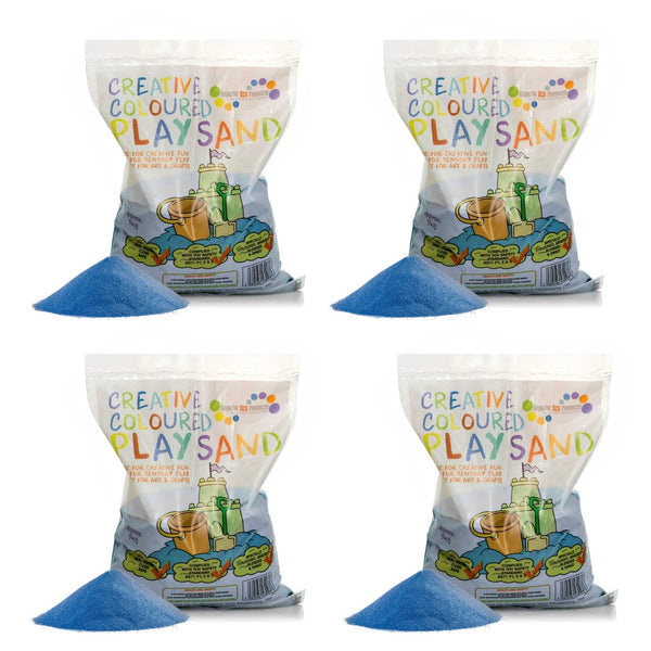 Coloured Play Sand - 4 x 5kg Bags (8 Colours Available)