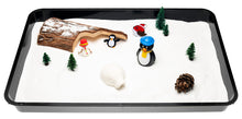 Load image into Gallery viewer, Small World Play - Christmas Sparkle Snow Sand