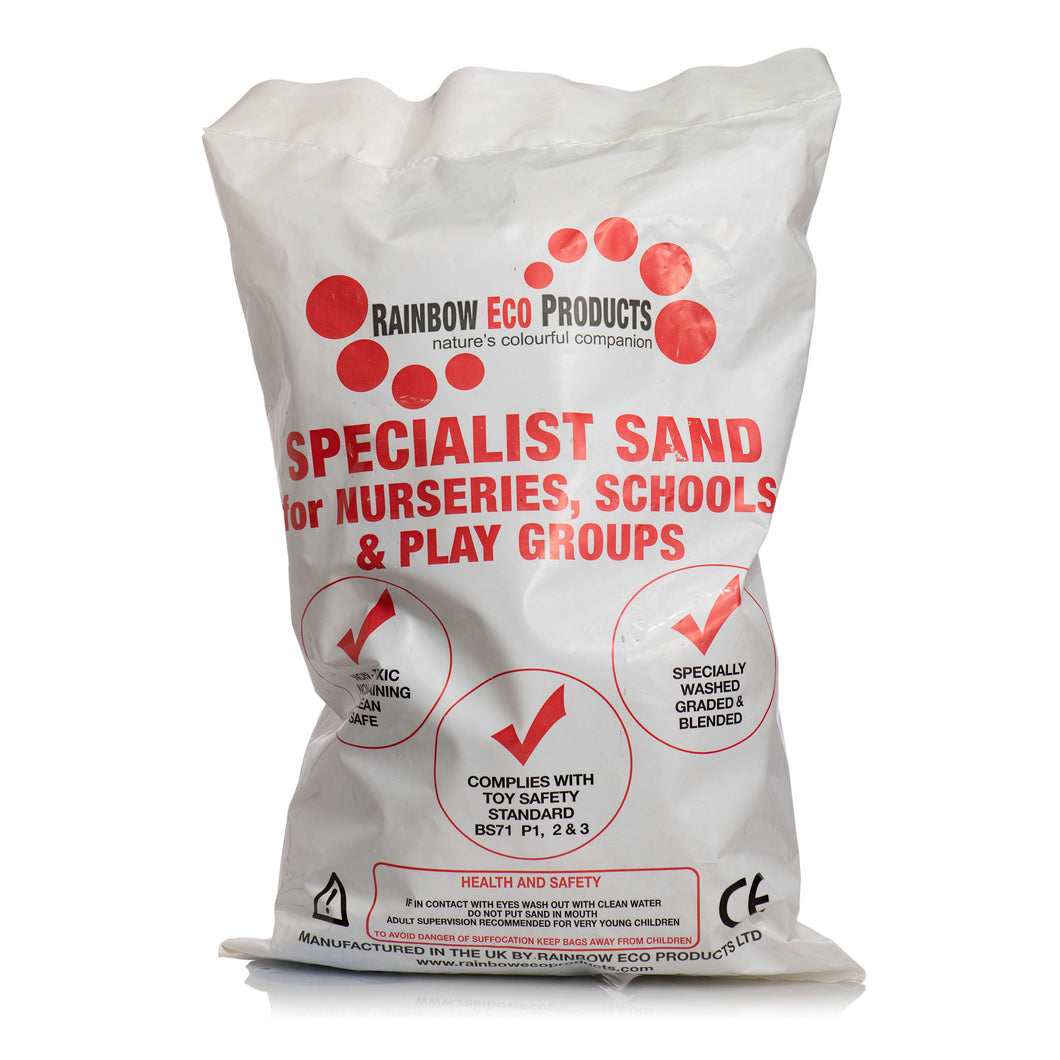 Natural Play Sand - 1 x 20kg Bags