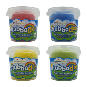 Classic flubbadoh (Blue, Yellow, Red, Green)