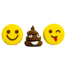 Load image into Gallery viewer, Emoji flubbadoh (Yellow, Red, Brown, White)