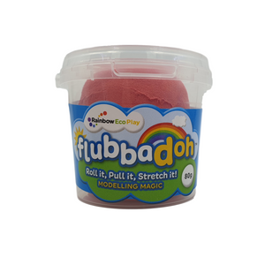 Classic flubbadoh (Blue, Yellow, Red, Green, Black, White)
