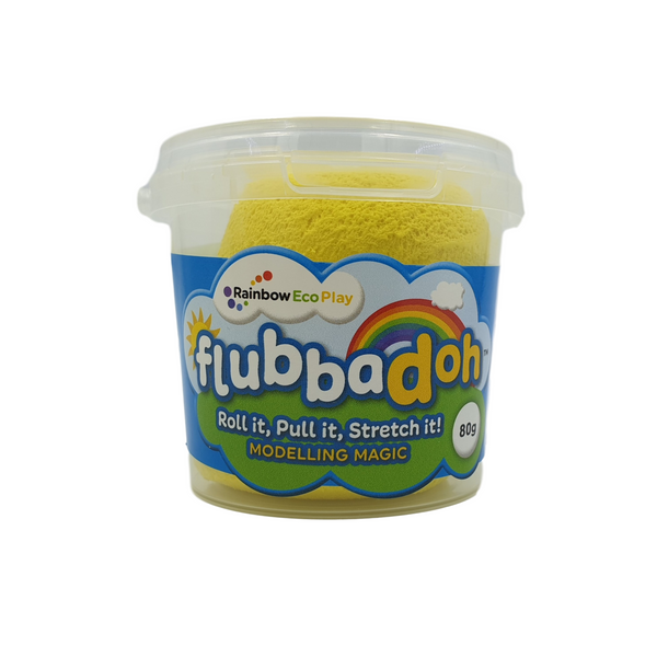 flubbadoh - Classic Pack of 4 (Blue, Yellow, Red, Green)