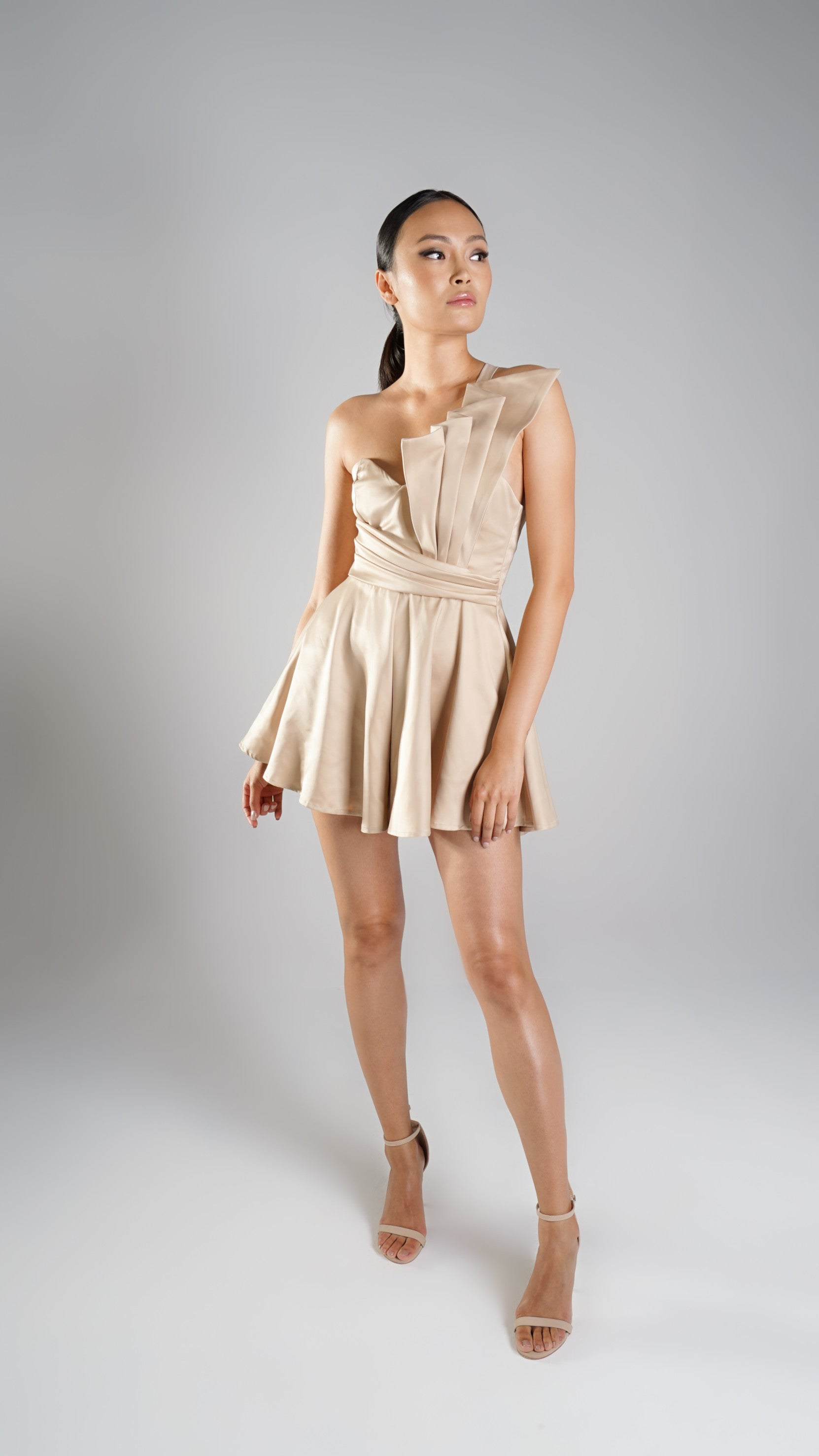 Luna Nude Playsuit