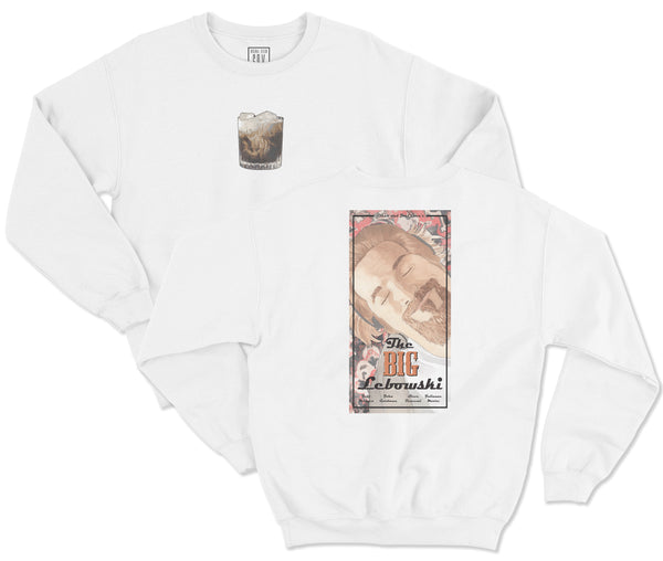 THE BIG LEBOWSKI SCRIPT CREW NECK