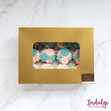 Load image into Gallery viewer, Custom Cupcakes - Chico Gender Reveal Design