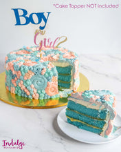 Load image into Gallery viewer, Custom Vanilla Cake - Chico Gender Reveal