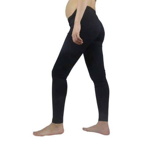 Elfus Maternity Yoga Pants Compression Leggings