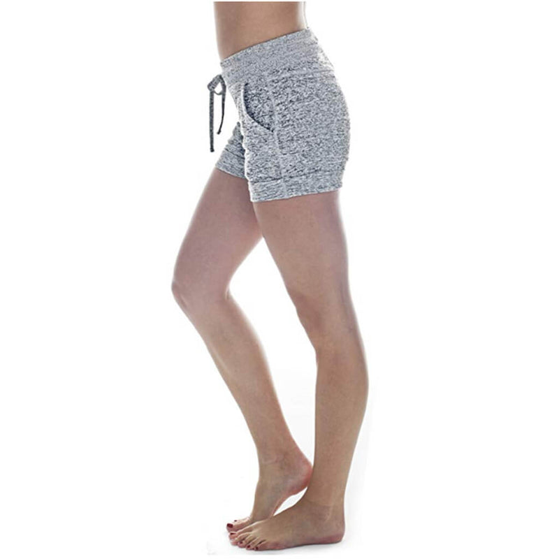 DRAWCORD YOGA SHORTS