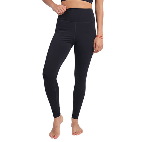 Elfus High-waisted Yoga Pants in Black, Grey