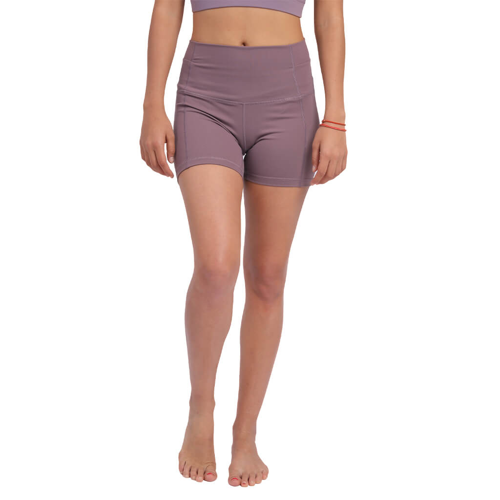 High-waisted Yoga Shorts, Bikram Yoga Shorts