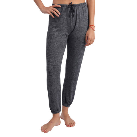 Elfus Women Sweatpants in Dark Grey