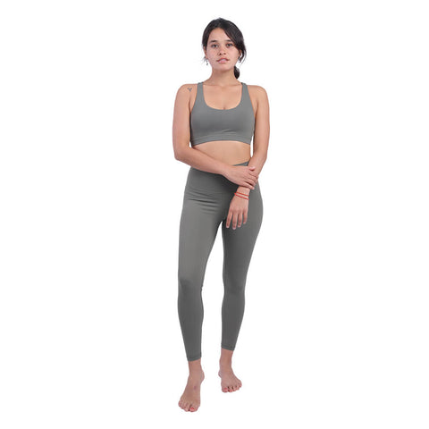 Elfus Yoga Clothes, Yoga Outfit in Olive