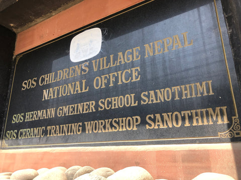SOS village d'enfants au Nepal