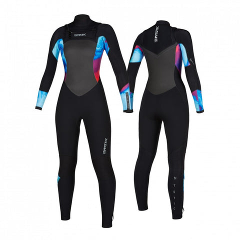 Mystic Diva Full Suit Double Front Zip 4/3mm Women