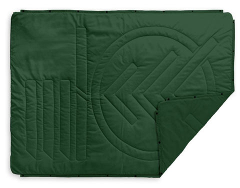 Voited Surf Pillow blanket Eden green