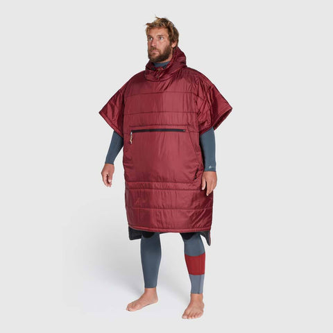 Voited Surf poncho Oxblood L/XL