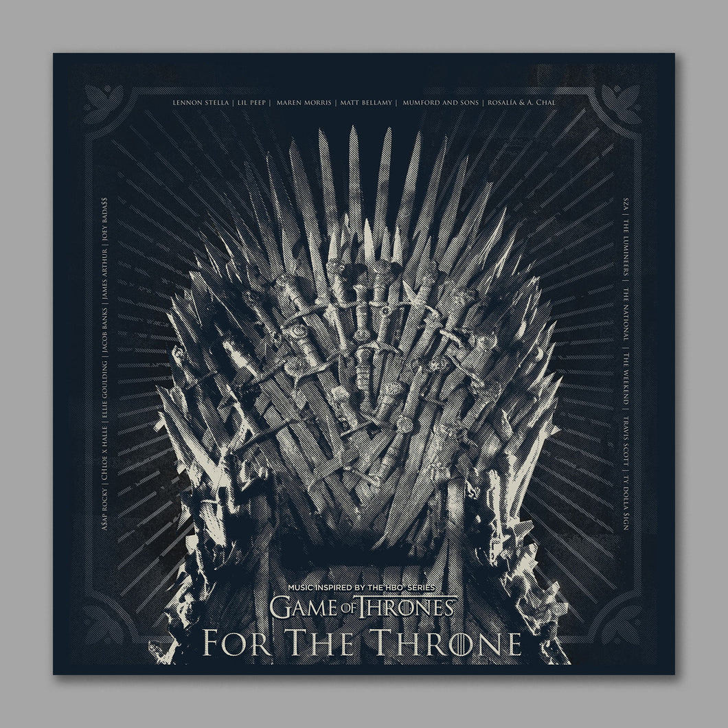 For the Throne Lithograph + Digital Download