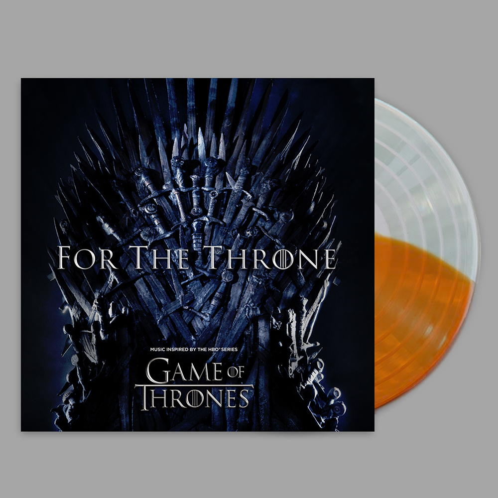Limited Edition Fire and Ice Split Colored Vinyl + Digital Download