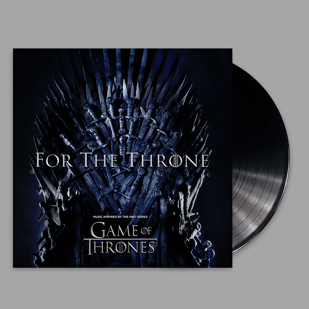 For The Throne Vinyl Album + Digital Download