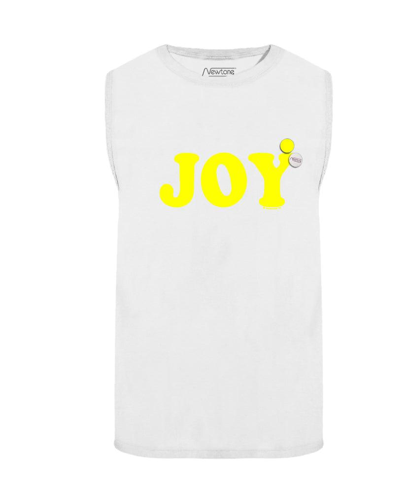 "Tee shirt biker off white ""JOY"""