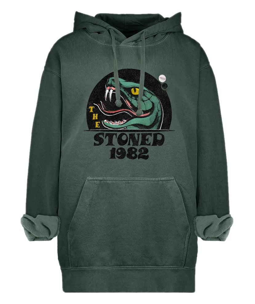 "Hoodie jagger forest ""STONED"""