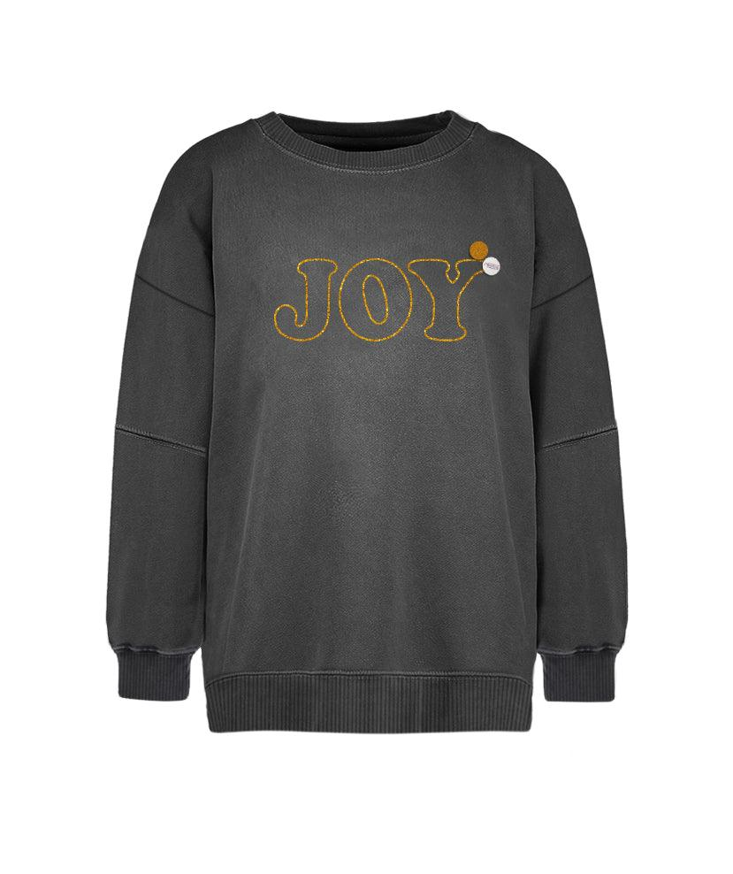 "Sweatshirt roller pepper ""JOY"""