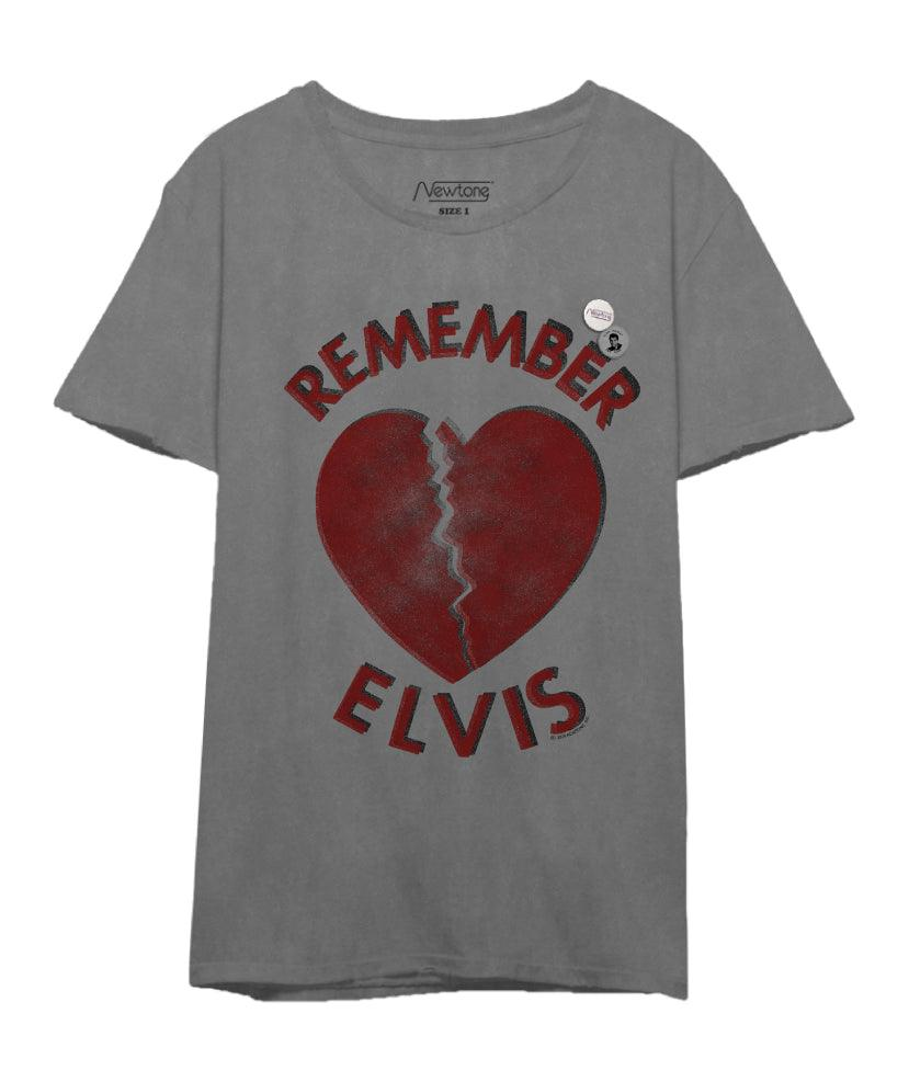 "Tee shirt starlight grey ""ELVIS"""