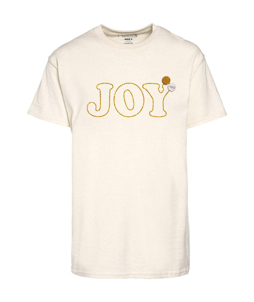 "Tee shirt trucker natural ""JOY"""